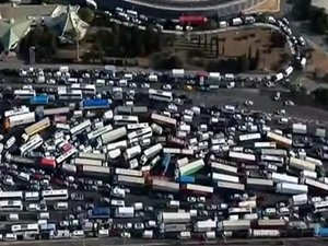 Bayram trafiği çilesi erken başladı