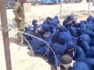 İsrail'den Gazze'de yarı çıplak işkence!