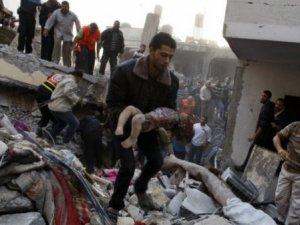 Gazze'de ölenlerin sayısı artıyor !