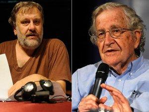 Chomsky ve Zizek'den İsrail'e uyarı