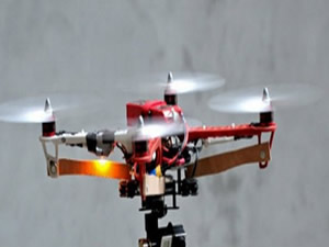 Kayıp adam 'model insansız uçakla' bulundu