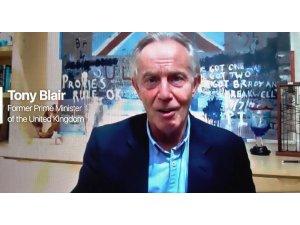 İngiltere eski Başbakanı Tony Blair, Türkiye'nin de yoğun bir şekilde yürüttüğü aşı seferberliğinin önemine değindi