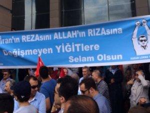 Serbest bırakılan polisten 'Gülen bedduası'