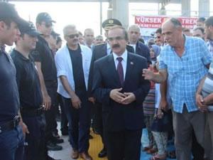 Erdoğan'ın treni Sakarya'da durmadı