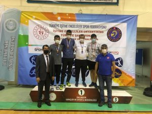 Manavgat İşitme Engelliler Oryantiringde şampiyon çıkardı
