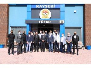Özhaseki'den TÜFAD'a ziyaret