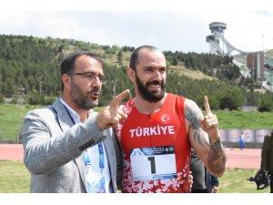 Olimpiyat için koştular