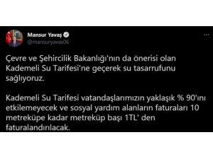 Ankara'da Kademeli Su Tarifesi'ne geçiliyor