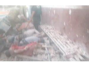 Afrin'de PKK/YPG'nin hastaneye düzenlediği füzeli saldırıda ölü sayısı 13'e yükseldi