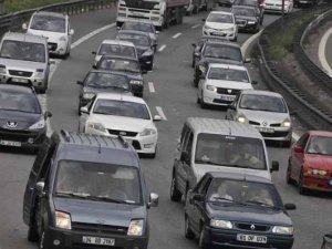 Bayram trafiği kabus oldu