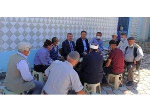 """Başkan Özdemir: """"Tüm mahallelerimize eşit hizmet etme gayretindeyiz"""""""