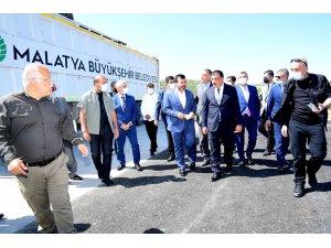 Malatya'da çevreye duyarlı hizmetler devam ediyor