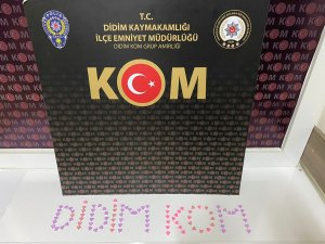 İzmir-Didim arası uyuşturucu ticaretine polis engeli..