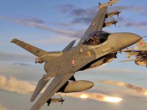 Türk F-16'lar havalandı! Sınırda sıcak saatler