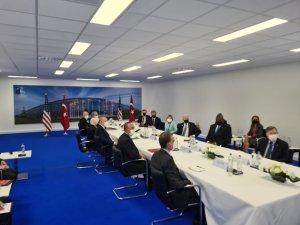 Erdoğan ve Biden ilk kez Brüksel'de bir araya geldi