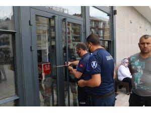 Didim'de işletme ruhsatı olmayan  otel mühürlendi