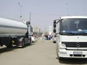 Tanker şoförlerinden eylem