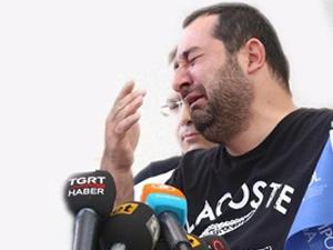 Göğebakan'ın kardeşi gözyaşlarını tutamadı