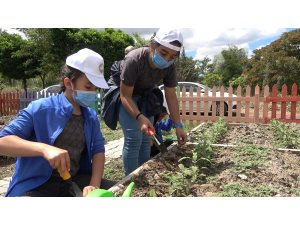 Çocuk Tarım Akademisi'nde çocuklar 'toprak' ile buluşuyor
