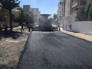Arzumkent Caddesi asfaltlanıyor