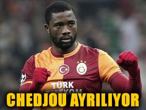 Chedjou Galatasaray'dan ayrılıyor!