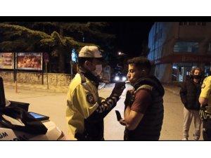 Şuhut'ta trafik ekipleri alkole geçit vermedi
