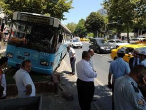 Beşiktaş'ta Halk otobüsü faciası!