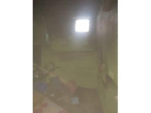 Yalnız yaşayan yaşlı kadının evi yandı