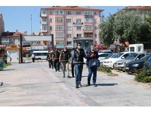Niğde merkezli 9 ilde suç örgütü operasyonu: 14 gözaltı