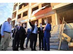 Pamukkale Belediyesi Muhammet Serter İmam Hatip Lisesi ve Ortaokulu yeni eğitim yılına yetişecek
