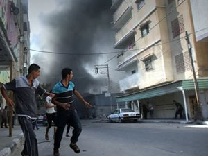 Gazze'deki 72 saatlik ateşkes başladı
