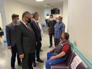 """Milletvekili Ceylan: """"Çorum'da aşılanma oranı 315 bini geçti"""""""