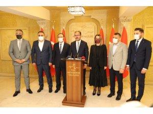 Gençlik ve Spor Bakanı Kasapoğlu Nevşehir'de