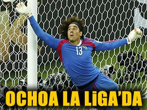 Dünya Kupası'nın başarılı filebekçisi Malaga'da!