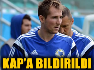 Galatasaray'dan Hajrovic açıklaması