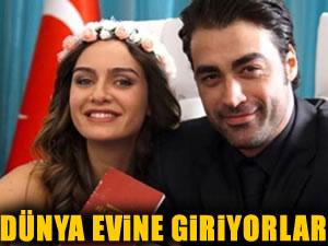 Birce Akalay ve Sarp Levendoğlu bu akşam evleniyor!