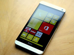 HTC One M8′in Windows Phone modeli geliyor