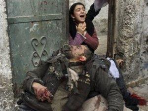 Gazze'de  yaşamı yitirenlerin sayısı 1650