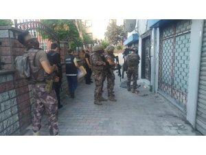 İstanbul'da örgütlü uyuşturucu satıcılarına yönelik eş zamanlı operasyon