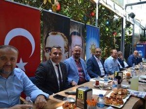 AK Parti Çorlu'dan eski başkanlara vefa