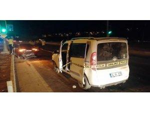 Elazığ' da zincirleme trafik kazası : 3 yaralı