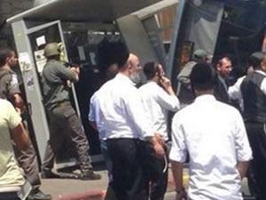 Kepçeyle İsrail otobüsünü deviren Filistinli genç öldürüldü
