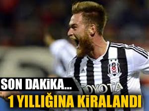 Beşiktaş'ta ayrılık! 1 yıllık imzayı attı
