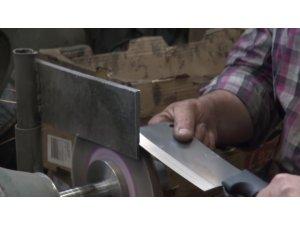 Bıçak imalatçıları bayramın yaklaşmasıyla üretimi artırdı