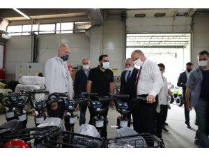Başkan Özlü, istihdama katkı sağlayanları ziyaret etti