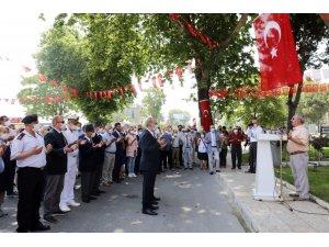 Mudanyalı Kahraman Şükrü Çavuş törenle anıldı
