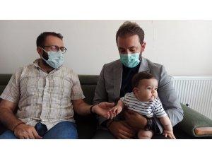MİMDER'den SMA hastası Eyüp Çınar'a destek