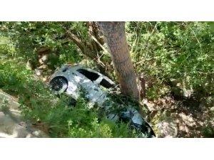 Bayburt'ta trafik kazası: 2 yaralı