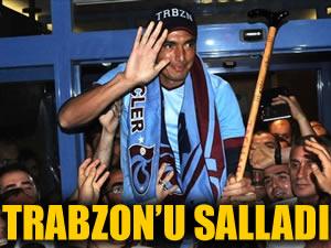 Trabzon'u salladı!