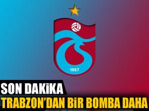Trabzon'dan bir bomba daha!
